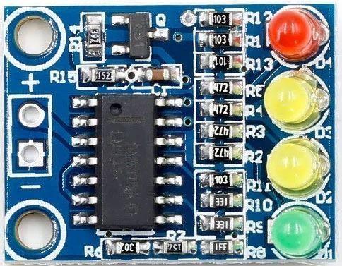 Indikátor napětí 11-15V v palubní síti automobilu, modul XD-82B