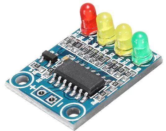 Indikátor napětí 3,2-4,2V pro Li-Ion a Li-pol články, modul XD-82B