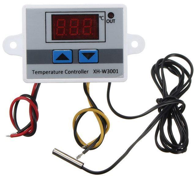 Digitální termostat XH-W3001, -10 až +110°C, napájení 24V