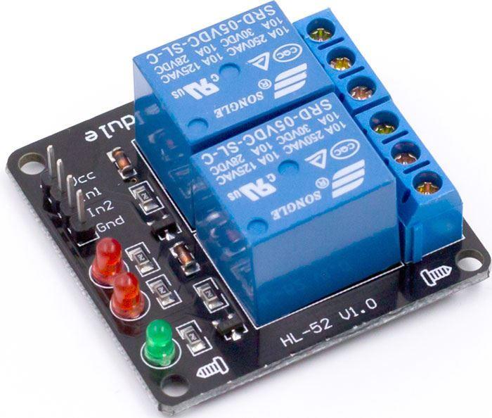 Modul relé 2x 5V pro Arduino