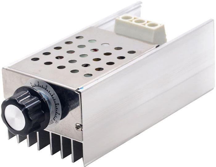 Stmívač a regulátor otáček pro komutátorové motory do 10000W