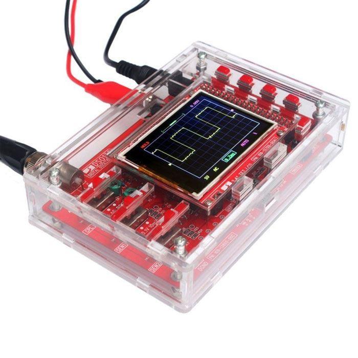 Krabička z plexi pro osciloskop DSO138