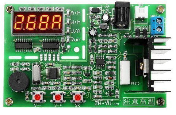 Tester článků, baterií a powerbank do napětí 8,5V ZB206 V1.3