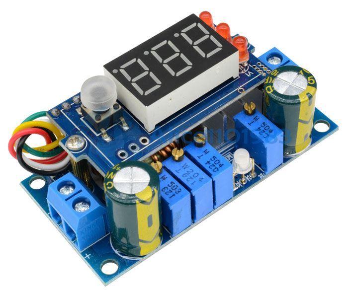 Regulátor MPPT 6-36V 5A, modul s displejem