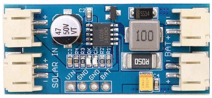 Regulátor MPPT CN3791 pro solární panel 6V
