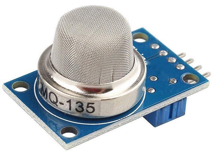 Detektor kvality ovzduší, modul s čidlem MQ-135