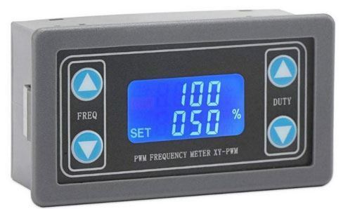 PWM generátor 1Hz - 150kHz s LCD displejem v krabičce