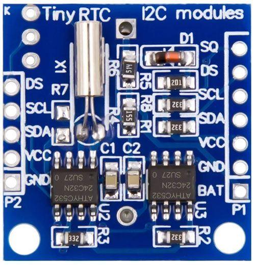 RTC hodiny reálného času DS1307 AT24C32