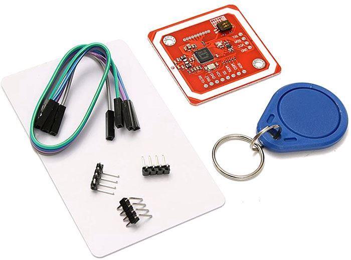 Modul NFC RFID V3, čtení i zápis, 13,56MHz, s vestavěnou anténou