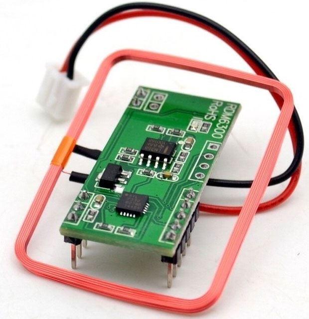 Modul RFID EM4100 125kHz