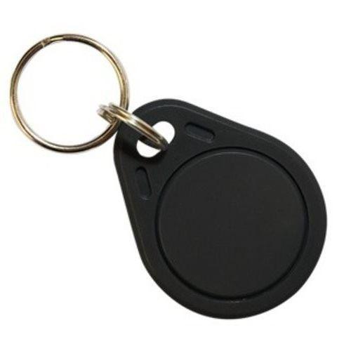 RFID přístupový čip 125kHz přepisovatelný, přívěšek, černý