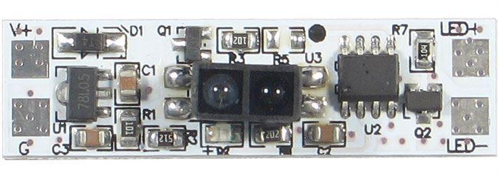 Bezdotykový spínač mávnutím pro LED pásky