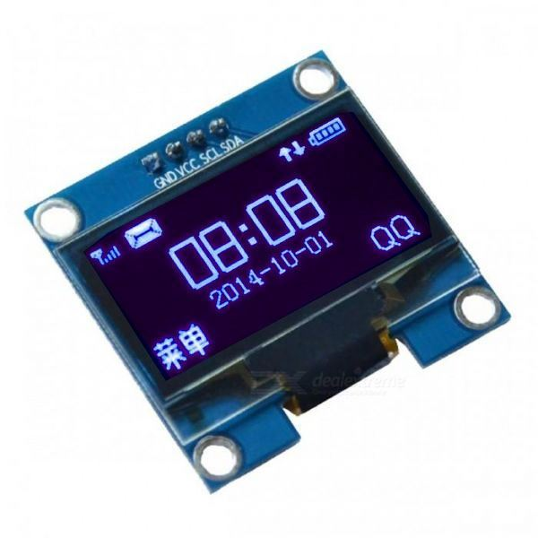 "Displej OLED 0,96"", 128x64 znaků, IIC/I2C, 4piny"