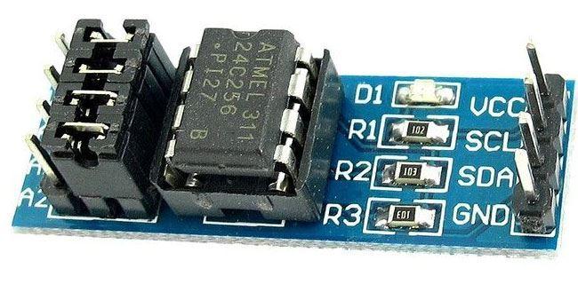 Paměť I2C EEPROM s AT24C256 pro Arduino