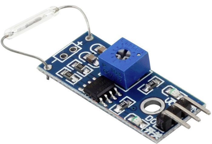 Magnetický snímač s jazýčkovým kontaktem - modul pro Arduino