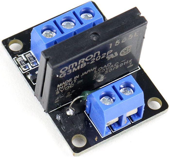 Modul relé 1x SSR A03B, napájení 5V, s optočlenem