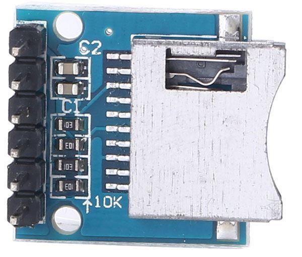 Modul čtečka Micro SD karet - SPI modul
