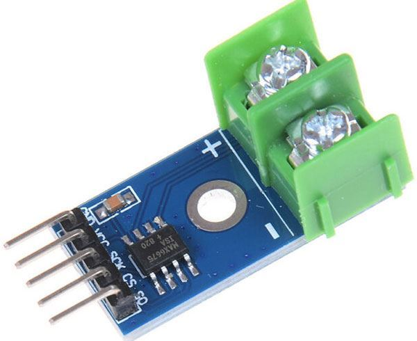 """Převodník termočlánku """"K"""" MAX6675 pro Arduino"""