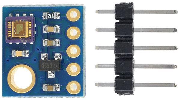 Měřič-senzor UV záření, modul s ML8511