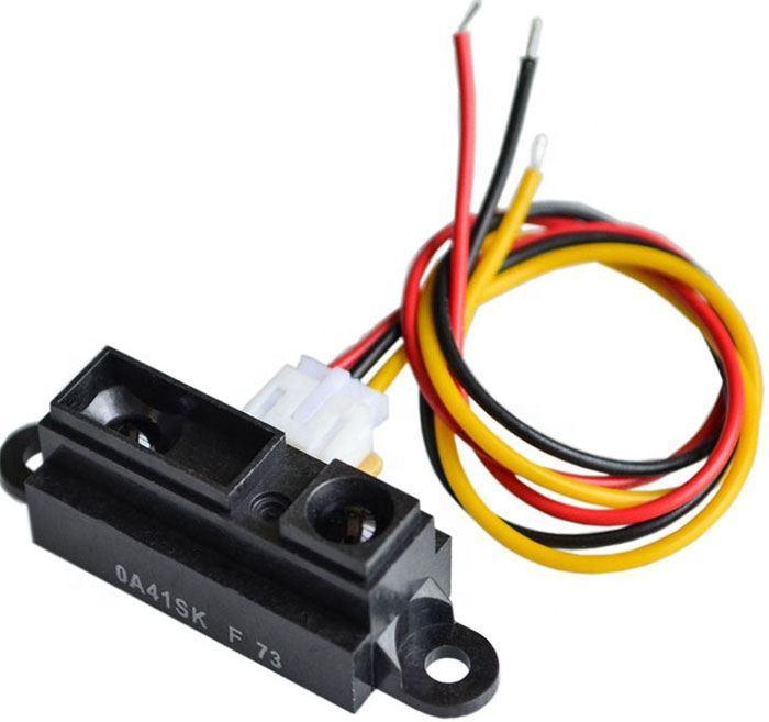 Infračervený měřič vzdálenosti 10-80cm, senzor GP2Y0A21YK0F