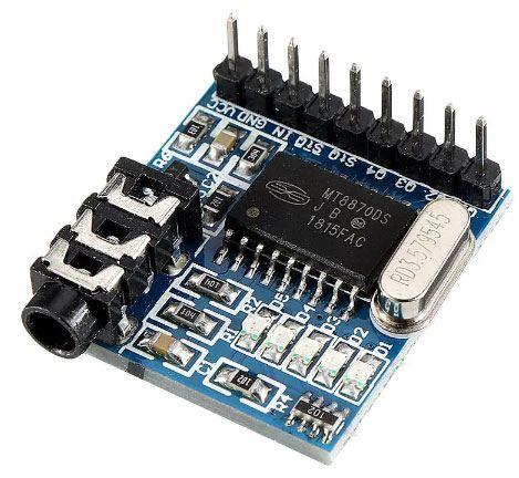 Modul pro dekódování hlasu MT8870 DTMF