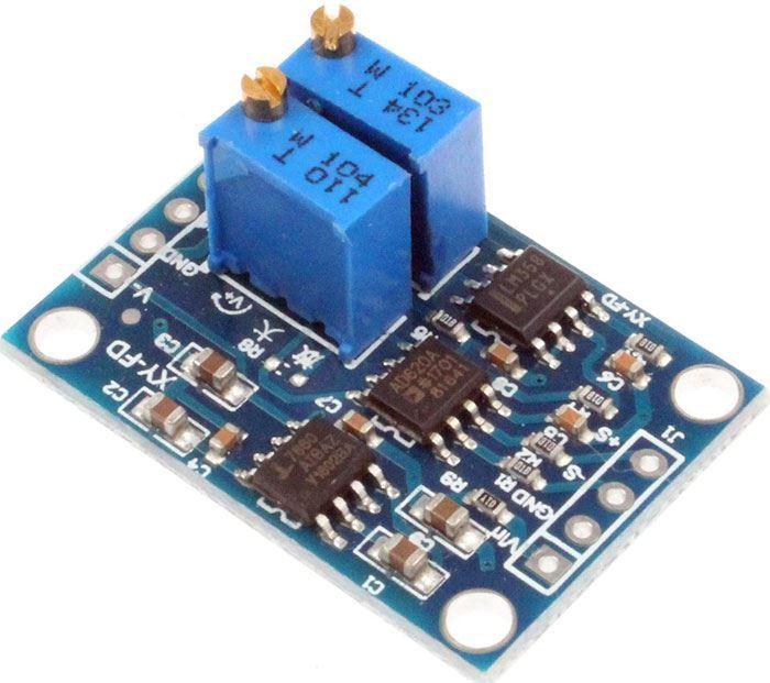 Měřící zesilovač - modul s AD620