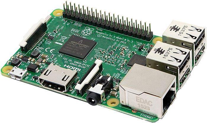 Raspberry Pi3 model B, 1GB RAM