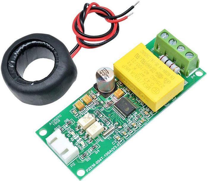 Měřič spotřeby PZEM-004T 80-260VAC 100A pro Arduino