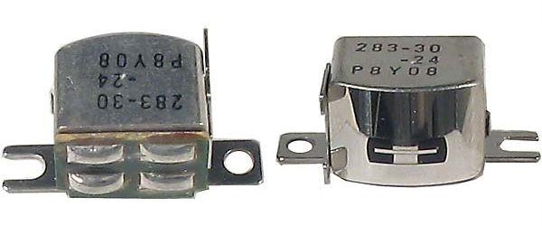 Mgf.hlava 283-30 P8Y(F79)stereo,2x220ohm, rozteč16