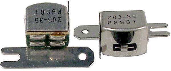 Mgf.hlava 283-35 stereo 2x210ohm, rozteč 18-20mm