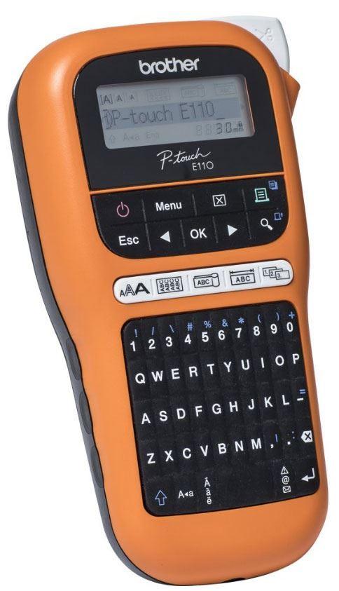 Tiskárna štítků - štítkovačka Brother E110VP