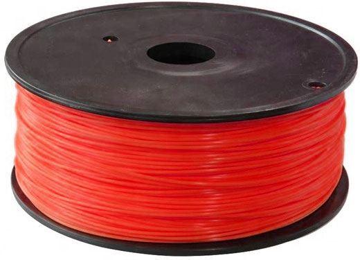 Tisková struna 1,75mm červená, materiál ABS, cívka 1kg /3D tisk/