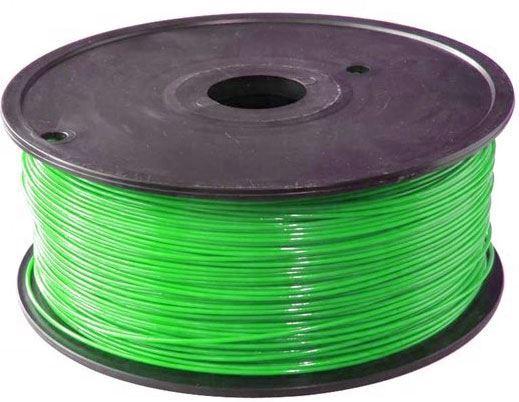 Tisková struna 1,75mm zelená, materiál ABS, cívka 1kg /3D tisk/