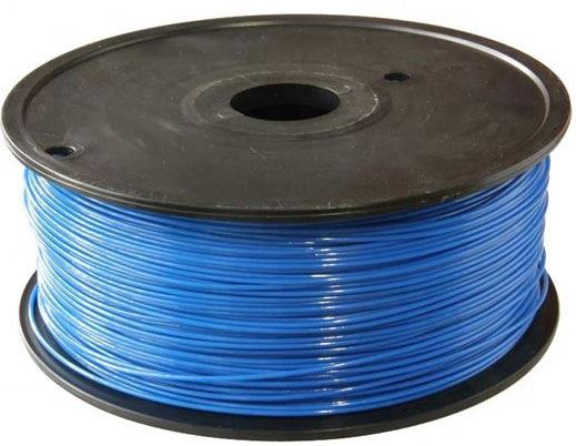 Tisková struna 1,75mm modrá, materiál ABS, cívka 1kg /3D tisk/