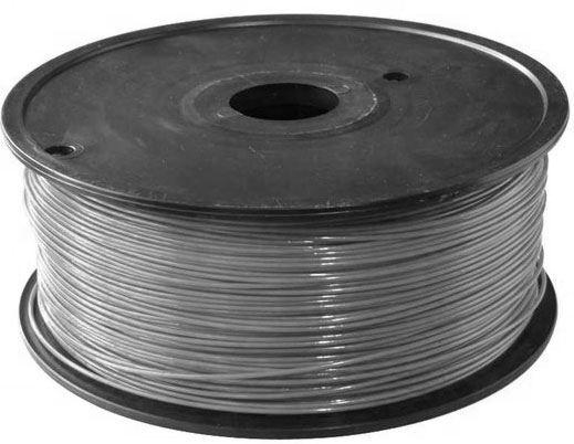 Tisková struna 1,75mm šedá, materiál ABS, cívka 1kg /3D tisk/