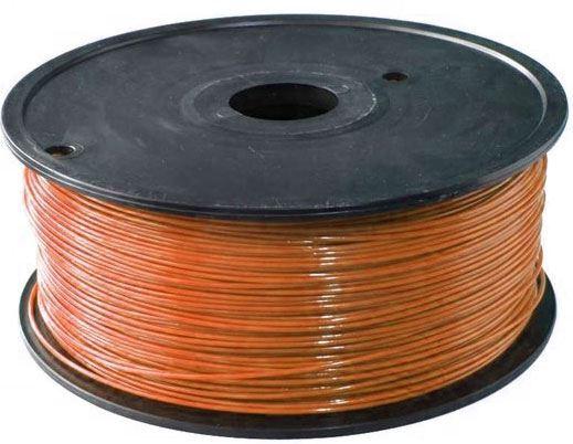 Tisková struna 1,75mm hnědá, materiál ABS, cívka 1kg /3D tisk/