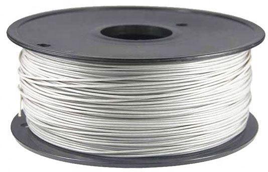 Tisková struna 1,75mm bílá, materiál PLA, cívka 1kg /3D tisk/