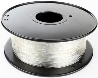 Tisková struna 1,75mm čirá, materiál PLA, cívka 1kg /3D tisk/