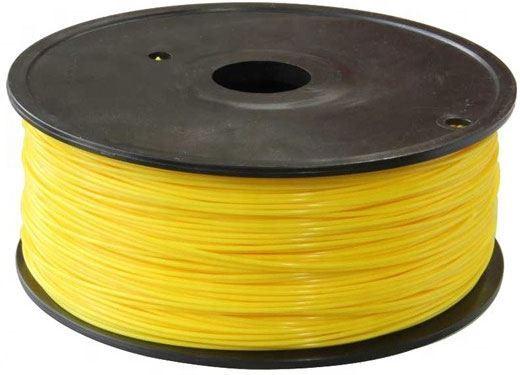 Tisková struna 1,75mm žlutá, materiál PLA, cívka 1kg /3D tisk/