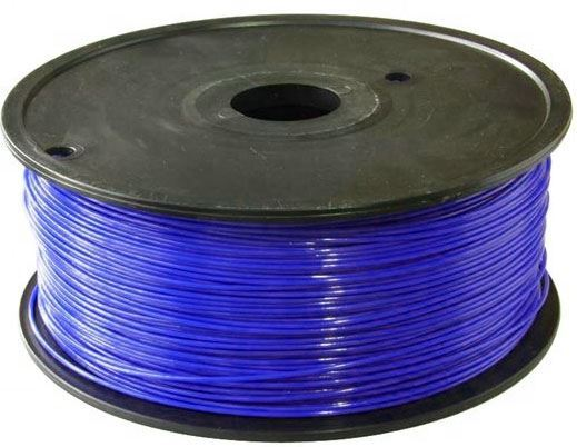 Tisková struna 1,75mm tmavěmodrá, materiál PLA, cívka 1kg /3D tisk/