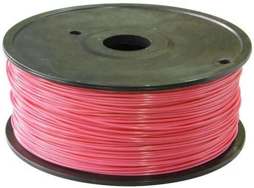 Tisková struna 1,75mm růžová, materiál PLA, cívka 1kg /3D tisk/