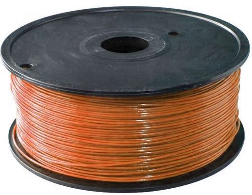 Tisková struna 1,75mm hnědá, materiál PLA, cívka 1kg /3D tisk/