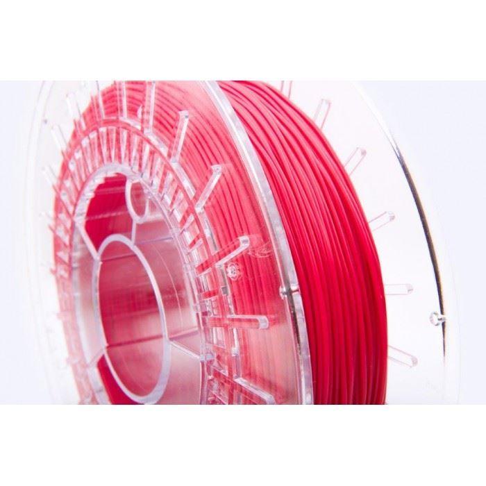 Tisková struna FLEX 20D červená, Print-Me, 1,75mm, 0,45kg