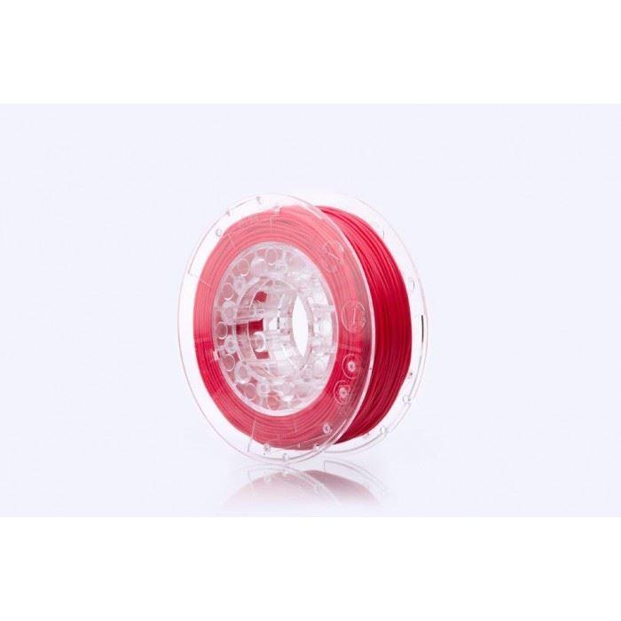 Tisková struna FLEX 40D červená, Print-Me, 1,75mm, 0,45kg