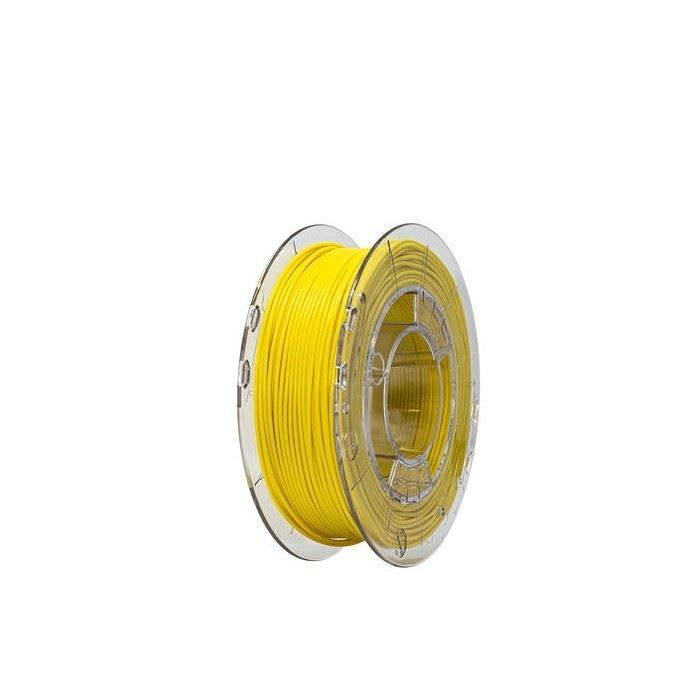 Tisková struna FLEX 40D žlutá, Print-Me, 1,75mm, 0,45kg