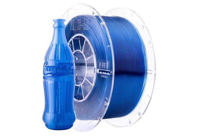 Tisková struna Swift PET-G modrá laguna, Print-Me, 1,75mm, 1kg