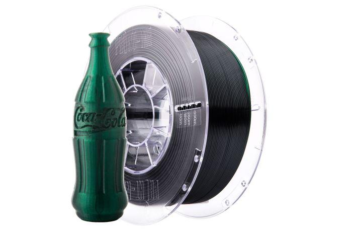 Tisková struna Swift PET-G zelená lahvová, Print-Me, 1,75mm, 1kg