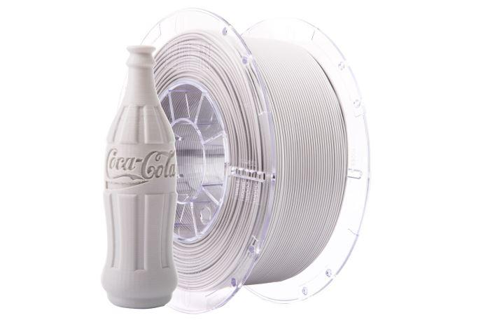 Tisková struna Swift PET-G světle šedá, Print-Me, 1,75mm, 1kg