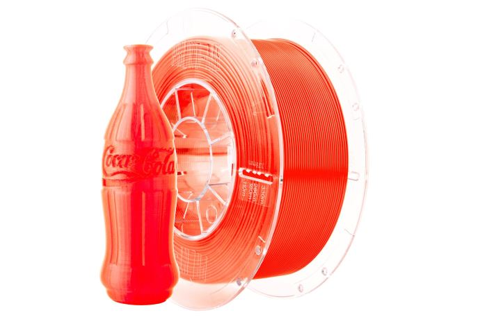 Tisková struna Swift PET-G oranžová-sklo, Print-Me, 1,75mm, 1kg