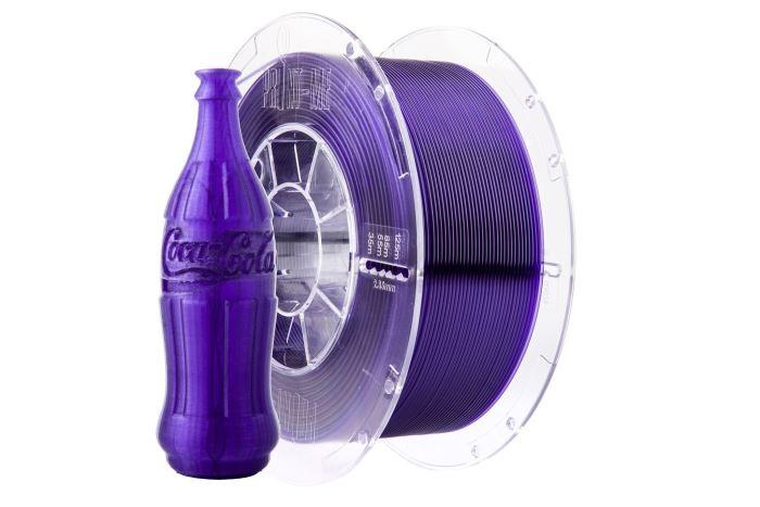 Tisková struna Swift PET-G fialová - sklo, Print-Me, 1,75mm, 1kg